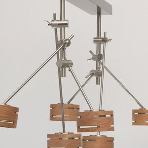 Lampa suspendată Chill-out Hi-Tech 6 Silver - 725010306 small 10