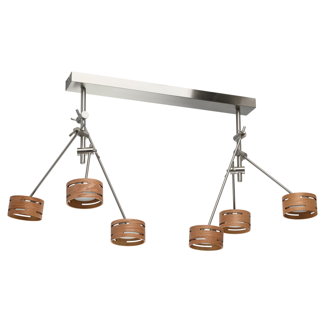 Lampa suspendată Chill-out Hi-Tech 6 Silver - 725010306