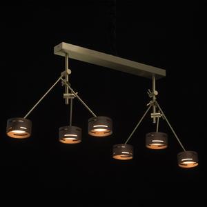 Lampa suspendată Chill-out Hi-Tech 6 Gold - 725010406 small 1