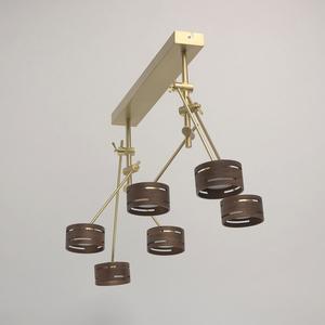 Lampa suspendată Chill-out Hi-Tech 6 Gold - 725010406 small 5