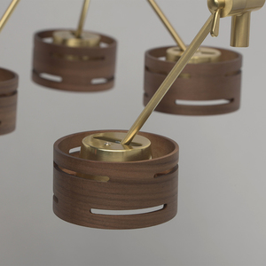 Lampa suspendată Chill-out Hi-Tech 6 Gold - 725010406 small 8
