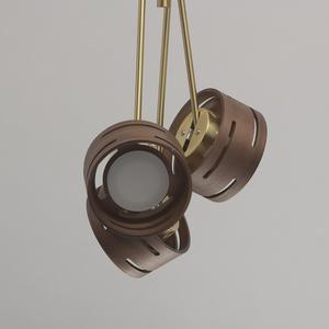 Lampa suspendată Chill-out Hi-Tech 6 Gold - 725010406 small 9