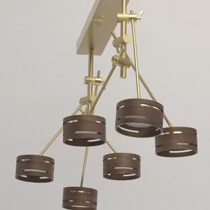 Lampa suspendată Chill-out Hi-Tech 6 Gold - 725010406 small 11