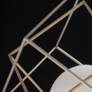 Lampa de masă din argint Prisma Hi-Tech 5 - 726030401 small 5