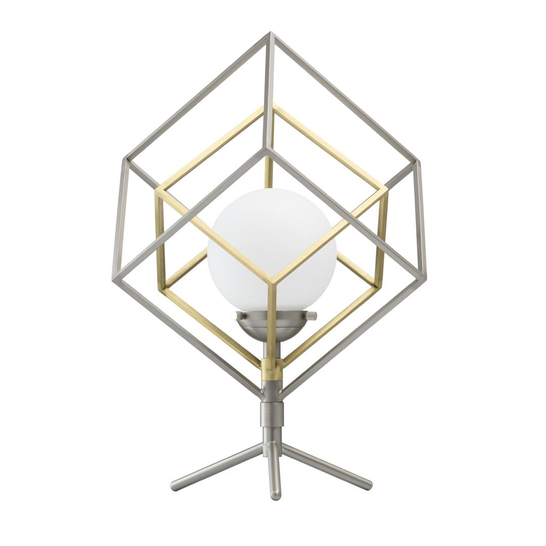 Lampa de masă din argint Prisma Hi-Tech 5 - 726030401