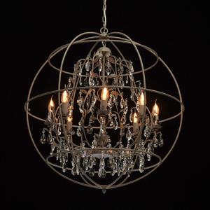 Lampă cu pandantiv Jester Loft 8 Grey - 104011708 small 1