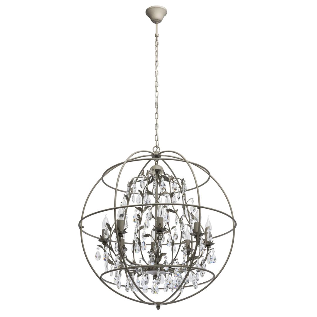 Lampă cu pandantiv Jester Loft 8 Grey - 104011708