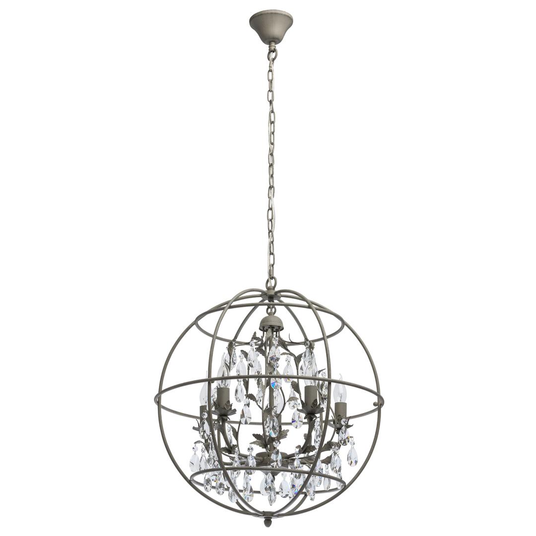 Lampă cu pandantiv Jester Loft 5 Grey - 104011805