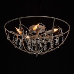 Lampă cu pandantiv Jester Loft 5 Grey - 104012005 small 1