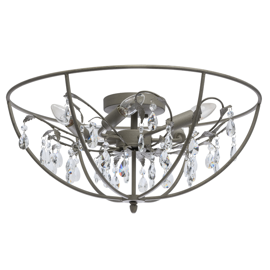 Lampă cu pandantiv Jester Loft 5 Grey - 104012005