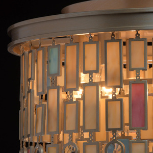 Lampa suspendată Maroc Țara 7 Bej - 185010607 small 13