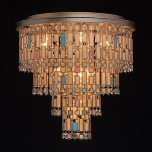 Lampa de tavan Maroc Country 10 Beige - 185010710 small 1