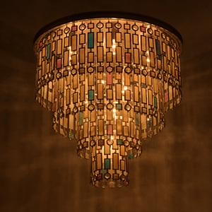 Lampa de tavan Maroc Country 10 Beige - 185010710 small 7