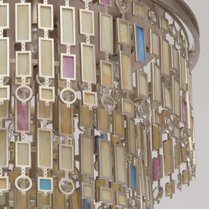 Lampa de tavan Maroc Country 10 Beige - 185010710 small 8