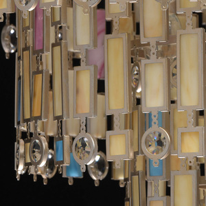 Lampa de tavan Maroc Country 10 Beige - 185010710 small 14