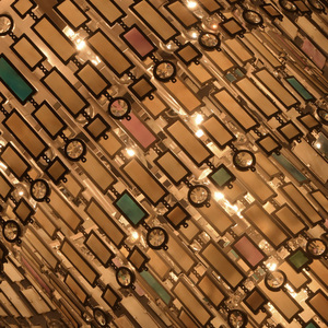 Lampa de tavan Maroc Country 10 Beige - 185010710 small 3