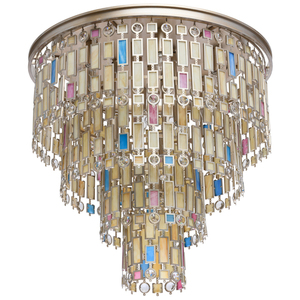 Lampa de tavan Maroc Country 10 Beige - 185010710 small 0