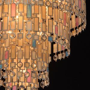 Lampa suspendată Maroc Țara 9 Bej - 185010809 small 9