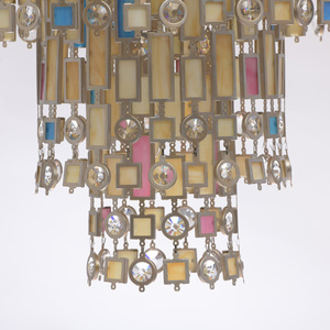 Lampa suspendată Maroc Țara 9 Bej - 185010809 small 12
