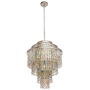 Lampa suspendată Maroc Țara 9 Bej - 185010809 small 0