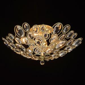 Plafonul Laura Crystal 6 Gold - 345012406 small 1