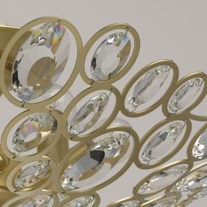 Plafonul Laura Crystal 6 Gold - 345012406 small 5