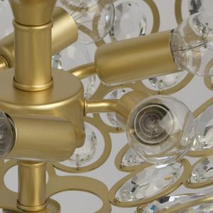 Plafonul Laura Crystal 6 Gold - 345012406 small 9