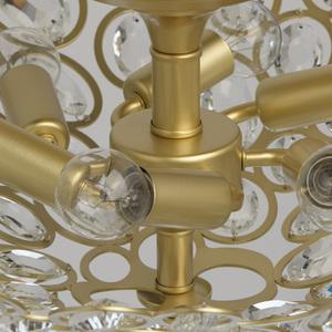 Plafonul Laura Crystal 6 Gold - 345012406 small 10