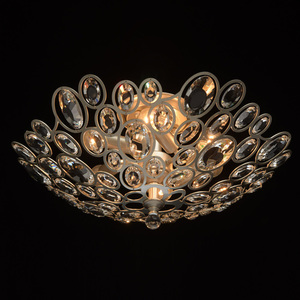 Lampa suspendată Laura Crystal 6 Silver - 345012506 small 1