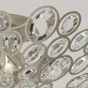 Lampa suspendată Laura Crystal 6 Silver - 345012506 small 6