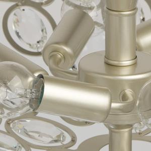 Lampa suspendată Laura Crystal 6 Silver - 345012506 small 10