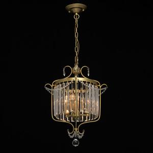Lampa suspendată Adele Crystal 3 Gold - 373014403 small 1