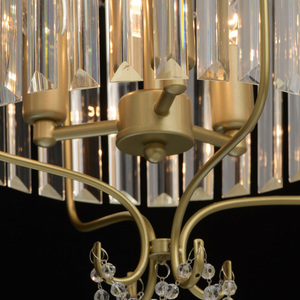 Lampa suspendată Adele Crystal 3 Gold - 373014403 small 11