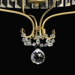 Lampa suspendată Adele Crystal 3 Gold - 373014403 small 13