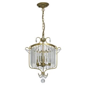 Lampa suspendată Adele Crystal 3 Gold - 373014403 small 0