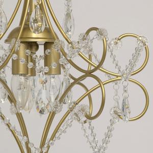 Lampa suspendată Adele Crystal 3 Gold - 373014503 small 7