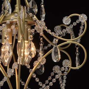 Lampa suspendată Adele Crystal 3 Gold - 373014503 small 8