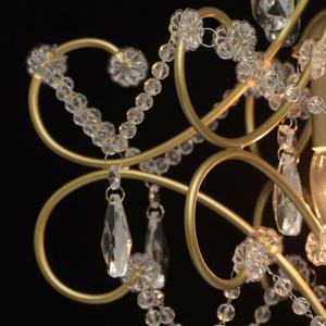 Lampa suspendată Adele Crystal 3 Gold - 373014503 small 9
