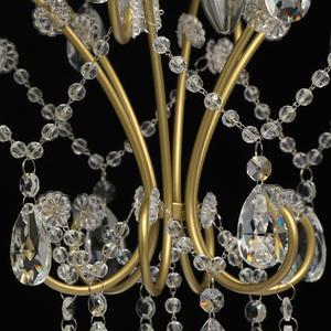 Lampa suspendată Adele Crystal 3 Gold - 373014503 small 12