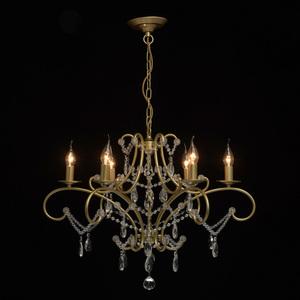 Lampa suspendată Adele Crystal 6 Gold - 373014606 small 1