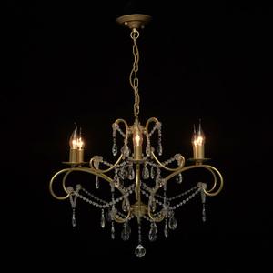 Lampa suspendată Adele Crystal 6 Gold - 373014606 small 7