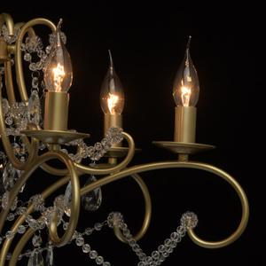 Lampa suspendată Adele Crystal 6 Gold - 373014606 small 9