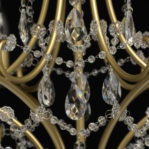 Lampa suspendată Adele Crystal 6 Gold - 373014606 small 2