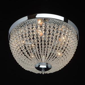 Lampa suspendată Venezia Crystal 5 Chrome - 464018405 small 1