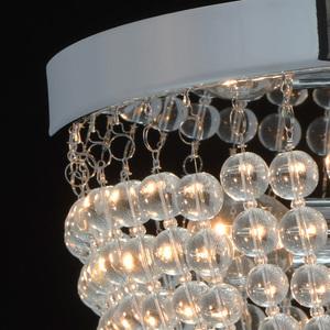 Lampa suspendată Venezia Crystal 5 Chrome - 464018405 small 7