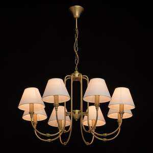 Lampa suspendată Consuelo Classic 8 Brass - 614011908 small 1