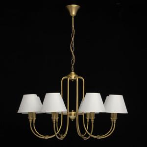 Lampa suspendată Consuelo Classic 8 Brass - 614011908 small 5
