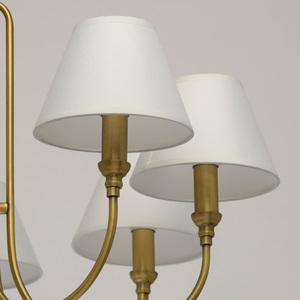 Lampa suspendată Consuelo Classic 8 Brass - 614011908 small 6