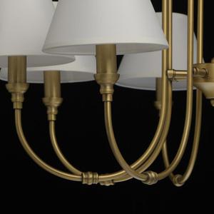 Lampa suspendată Consuelo Classic 8 Brass - 614011908 small 8