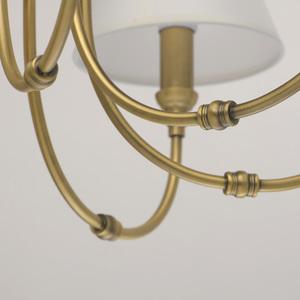 Lampa suspendată Consuelo Classic 8 Brass - 614011908 small 9